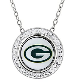 NFL® Green Bay Packers Sterling Silver Round Pendant