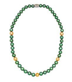 NFL® Green Bay Packers 8-9mm Freshwater Pearl Bead Strand Necklace