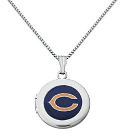 NFL® Chicago Bears Sterling Silver Polished Round Locket