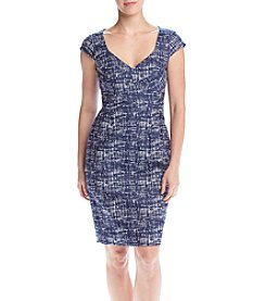 Adrianna Papell® Crossover Sheath Dress