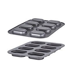 Bakers Advantage Fillable Mini Loaf Pan