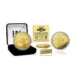 Highland Mint NFL® Carolina Panthers 2016 Gold Game Flip Coin