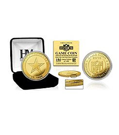 Highland Mint NFL® Dallas Cowboys 2016 Gold Game Flip Coin