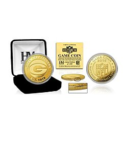 Highland Mint NFL® Green Bay Packers 2016 Gold Game Flip Coin