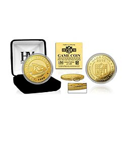 Highland Mint NFL® Kansas City Chiefs 2016 Gold Game Flip Coin