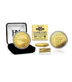 Highland Mint NFL® New England Patriots 2016 Gold Game Flip Coin