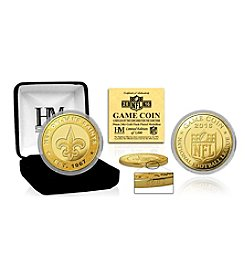 Highland Mint NFL® New Orleans Saints 2016 Gold Game Flip Coin