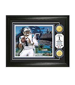 NFL® Carolina Panthers Cam Newton Bronze Coin Photo Mint by The Highland Mint