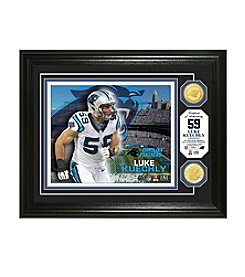 NFL® Carolina Panthers Luke Keuchly Bronze Coin Photo Mint by The Highland Mint