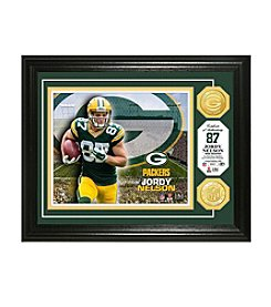 NFL® Green Bay Packers Jordy Nelson Bronze Coin Photo Mint by The Highland Mint