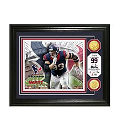 NFL® Houston Texans J.J. Watt Bronze Coin Photo Mint by The Highland Mint