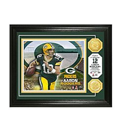 NFL® Green Bay Packers Aaron Rodgers Bronze Coin Photo Mint by The Highland Mint