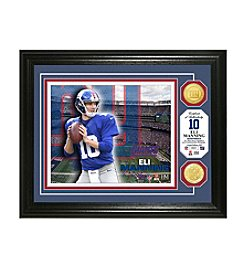 NFL® New York Giants Eli Manning Bronze Coin Photo Mint by The Highland Mint