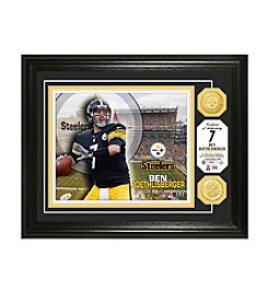 NFL® Pittsburgh Steelers Ben Roesthlisberger Bronze Coin Photo Mint by The Highland Mint
