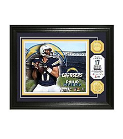 NFL® San Diego Chargers Philip Rivers Bronze Coin Photo Mint by The Highland Mint