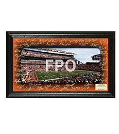 NFL® Cincinnati Bengals Signature Gridiron Collection by The Highland Mint