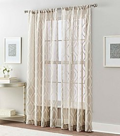 Peri Home® Ogee Hourglass Sheer Window Curtain