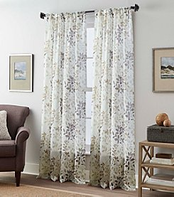 Peri Home® Foliage Print Sheer Window Curtain