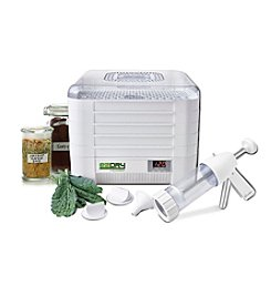 Excalibur EZ Dry 5-Tray Digital Dehydrator with Plastic Jerky Gun