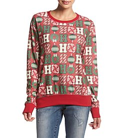 Eyeshadow® Ho Ho Ho Sweatshirt