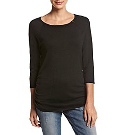 It's Our Time® Ruched Side Sweater