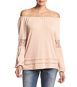 Eyeshadow® Off-Shoulder Top