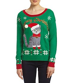 It's Our Time® Meowy Christmas Sweater
