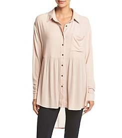 Skylar & Jade™ Gauze Button Tunic