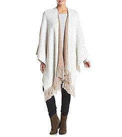 Cejon® Brushed Reverse Knit Wrap
