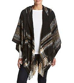 Collection 18 Stripe Border Hood Wrap