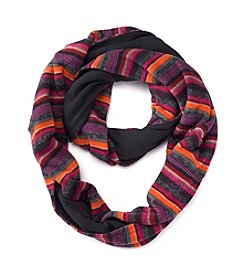 Cuddl Duds® Reversible Fleece Jersey Loop Scarf