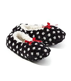 Fuzzy Babba® Dots Slipper