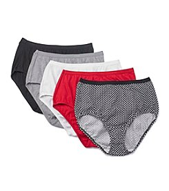 Hanes® 5-Pack Assorted Briefs
