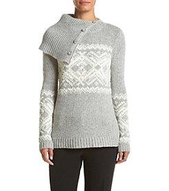 Ruff Hewn Cowl Neck Fairisle Sweater