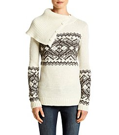 Ruff Hewn Cowlneck Fairisle Sweater