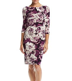 Jessica Howard® Floral Sheath Dress