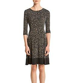 Connected® Contrast Hem Dress
