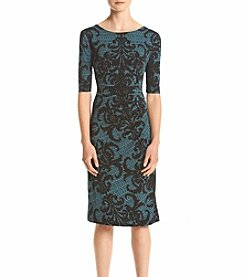 Connected® Printed Dress