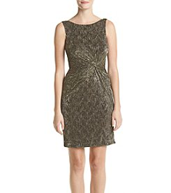 Calvin Klein Novelty Side Knot Dress