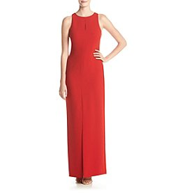 Calvin Klein Crepe Long Dress