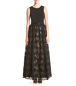 Calvin Klein Lace Hem Dress