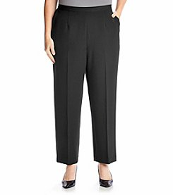 Alfred Dunner® Plus Size Wrap It Up Proportioned Pants