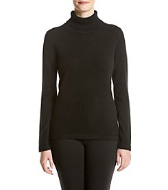 Premise Cashmere® Solid Turtleneck Sweater