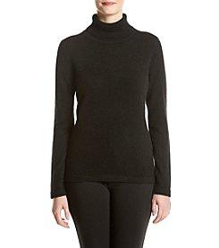 Premise Cashmere® Solid Turtleneck Sweater