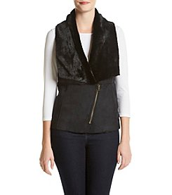 Cupio Oversized Shawl Collar Vest