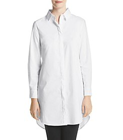 Cupio Collared Poplin Top