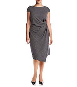 Jones New York® Plus Size City Herringbone Dress