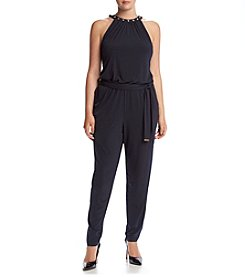 MICHAEL Michael Kors® Plus Size Dome Studded Jumpsuit
