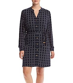 MICHAEL Michael Kors® Plus Size Dressage Print Shirtdress