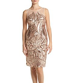 Adrianna Papell® Sequin Panel Dress